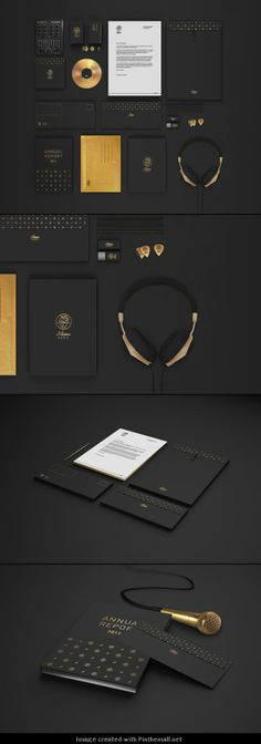 Adamo Music – Corporate Identity by Martine Strøm #branding