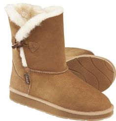 Cabela's: Cabela's Women's Heidi Water-Repellent Shearling Toggle Boots