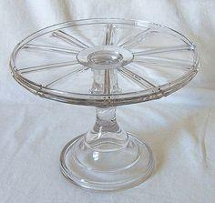 Wagon Wheel Design Cake Stand – Ca. 1900