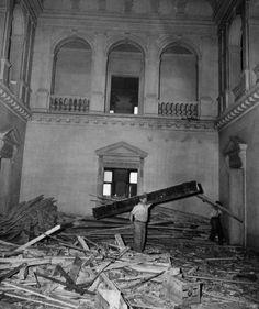 Demolition of Neily and Grace Vanderbilt Mansion, 640 Fifth Avenue