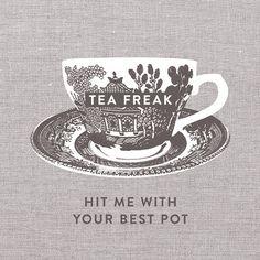 cup, tea time, wall frames, tea towels, hit