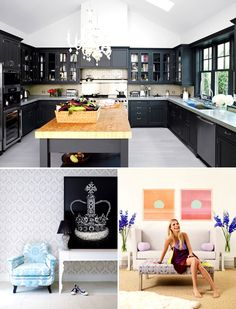 Gwyneth Paltrow's kitchen in the Hamptons