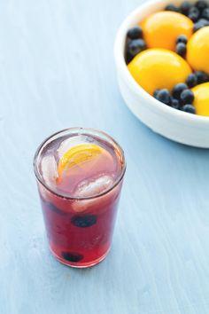 Blueberry lemon cooler