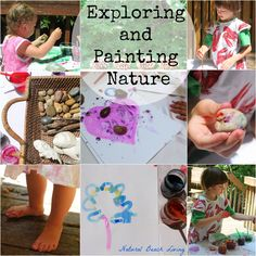 Exploring and Painting in Nature