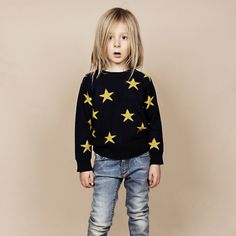 STAR SWEATER - mini rodini
