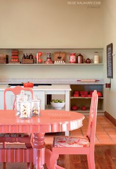 mesa cor de rosa | Pink table
