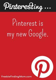 Pinterest is My New Google.