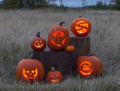 #FREE #Pumpkin Carving #design Stencils from @picmonkeyapp Click the pic for stencils!