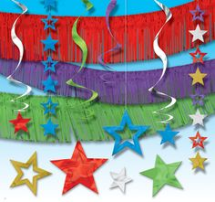 Idóneos para nochevieja o cualquier celebración elegante - Decorados colgantes brillantes, de www.fiestafacil.com / Beautiful hanging decorations, for New Year, or any elegant party, from www.fiestafacil.com