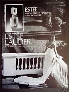 Estee Lauder Fragrance Perfume (1985)