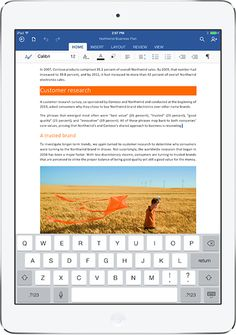 Microsoft Launches Office For iPad ~ TecHeaven