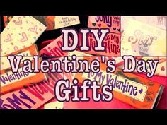 ▶ DIY: Valentine's Day Gift Ideas! Fast, Easy & Last Minute - YouTube