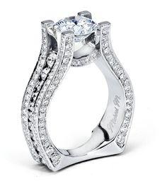 Michael M. Engagement Rings - R302