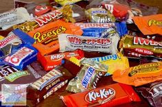 What to do with leftover Halloween candy!