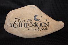 moon, engraved rocks, craft, hand engrav, hands, stone engraving, painted rocks, paint rock, engrav rock