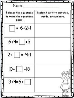 First Grade End of the Year Math Review Part 2