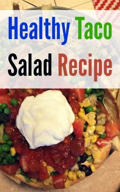 Looking for a way to make your taco salad healthier and tastier? How's a baked shell, yucca and jicama sound?