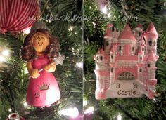 Personalized ornaments for the princess-loving little girl in your life! #PCholiday #ad