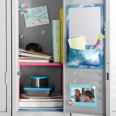 Gear-Up Pool Tie-Dye Locker Mirror Pocket #westelm