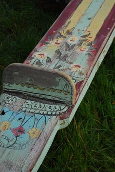 painted teeter totter