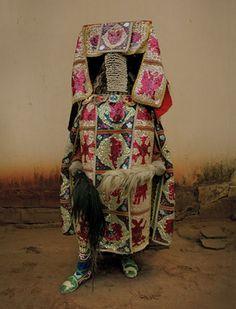 Leonce Raphael Agbodjelou, Egungun festival, Nigeria.