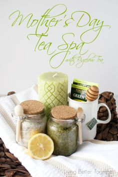 Mother's Day Tea Spa with Bigelow Tea | www.livingbettertogether.com #AmericasTea #shop #cbias