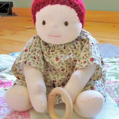 $5 A complete tutorial and pattern for making a Waldorf inspired doll
