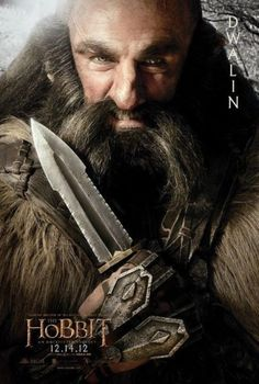 dwalin, ring, the hobbit, unexpect journey, movi, tolkien, middl earth, posters, thehobbit