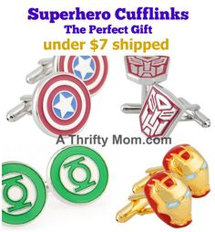 superero Cufflinks.