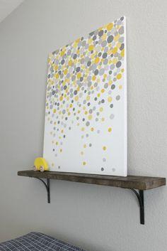 simple diy wall art...