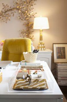 yellow chair!