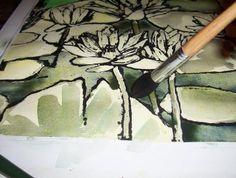 Ink & Tempera Resist Technique process | Art Student 101