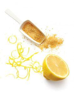 DIY: Honey Body Scrub ~ 1 tsp pure honey, 1/4 cup light olive oil, 1 cup raw or granulated sugar, & 2 tsp. fresh citrus zest
