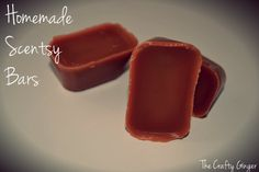 ✔ The Crafty Ginger: Homemade Scentsy Bars