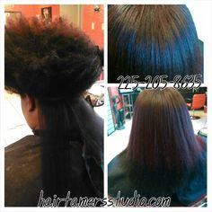 hair natural to straight on pinterest natural hair