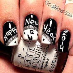 engagement parties, nailart, nail designs, manicur, nail arts, new years eve, nails, nail idea, year nail