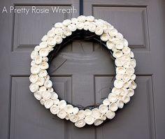 The Pretty Poppy: A Pretty Little Rosie Wreath
