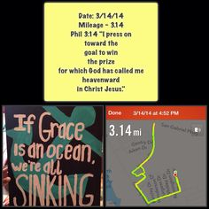 3/14/14: 3.14 mile run + 28 curtsy lunges