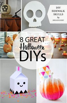 Fun DIY's for Halloween to bookmark!