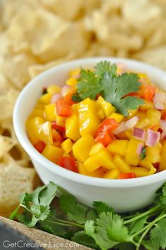 The BEST Mango Salsa Recipe!