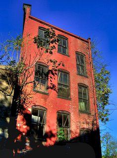 abandon buildings...