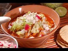 ▶ Pozole rojo - Red Pozole - Recetas de comida mexicana - YouTube