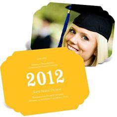 Perfect Presentation -- Graduation Invitation