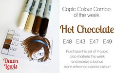 color combos, copic combo, copic colour, copic marker, copic color, colour combo, copiccolor, copic techniqu, week