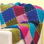 easy knit afghan