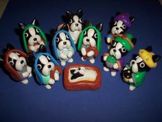 Boston Terrier Nativity Scene....I laughed out loud!