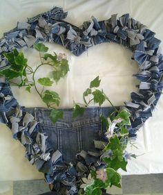 Jean Heart Wreath