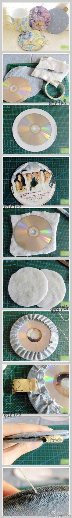 CDs recycling idea