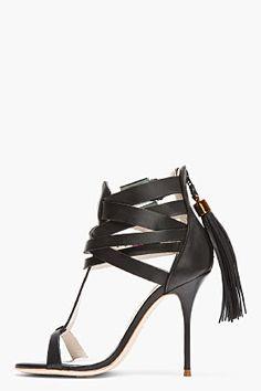 SOPHIA WEBSTER Leather and tassel