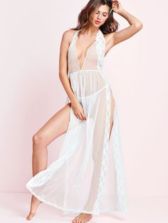 Embroidered Lace Gown - Very Sexy - Victoria's Secret